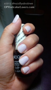 OPI Dont Burst my Bubble