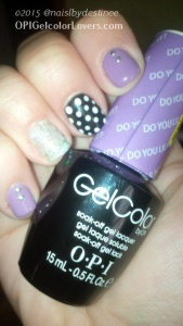 OPI Its a Lilac, Desperatly seeking sequins, alpine snow, black onyx