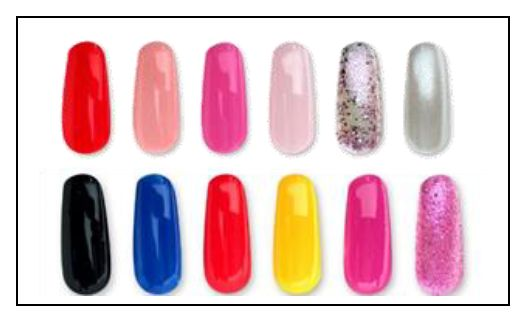 gc989 color chart - Opi Gel Color Chart