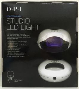 Opi Led Lamps Black Metal Vs White Lamp Vs Dual Cure