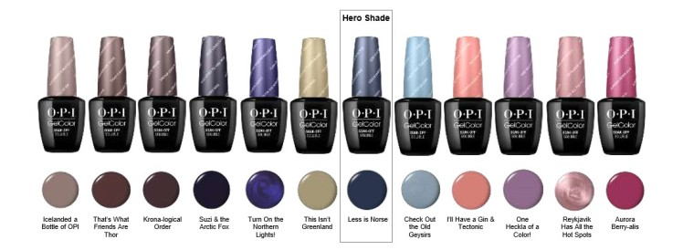 New Collection Announcement Iceland Fall 2017 Opi