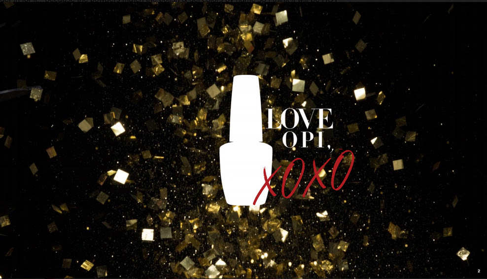 New Collection Announcement: Love OPI, XOXO Holiday 2017 – OPI ...
